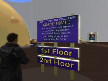 The University of Western Australia in Second Life: Grand Finale: UWA 3D Open Art Challenge, 11th December 2011 (VOTE NOW) | Machinimania | Scoop.it