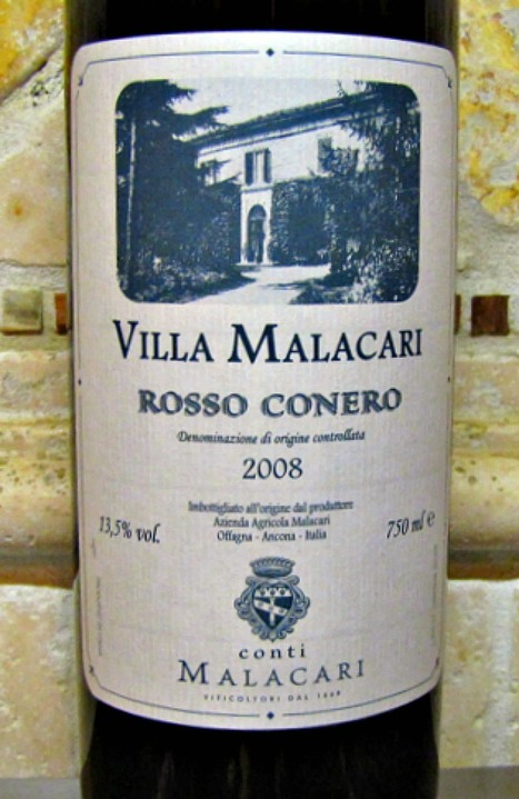 Rich, Rustic and Very Italian - Malacari Rosso Conero 2008 | Wines and People | Scoop.it