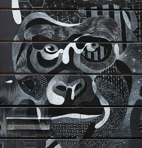 Le Street Art à la craie de Philippe Baudelocque   Graphisme, visuels & Webdesign   Scoop.it