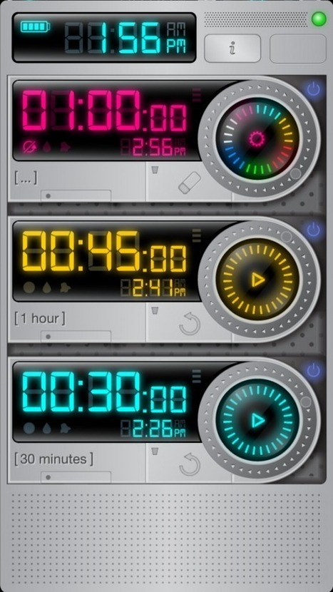Keep Track of All Your Cooking Times At Once With Timer Bundle -- AppAdvice | iPhones and iThings | Scoop.it