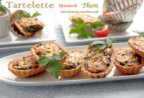 Tartelette épinard et thon   cuisine algerienne et recettes de ramadan   Scoop.it