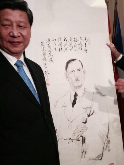 Tweet from @jpraffarin   50e anniversaire de l'établissement des relations diplomatiques entre la France et la République populaire de Chine   Scoop.it
