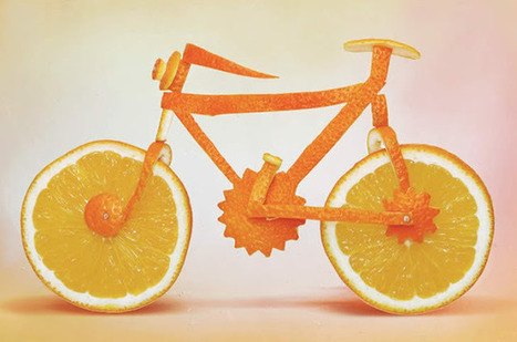 Tea with Grace: Dan Cretu's everyday objects made of fruit | Grace's Art Picks | Scoop.it
