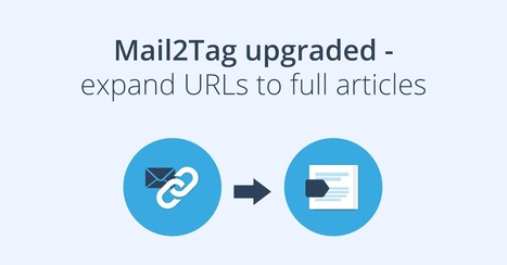 Inoreader's Mail2Tag upgraded! Quickly save entire web pages by emailing a link | RSS Circus : veille stratégique, intelligence économique, curation, publication, Web 2.0 | Scoop.it