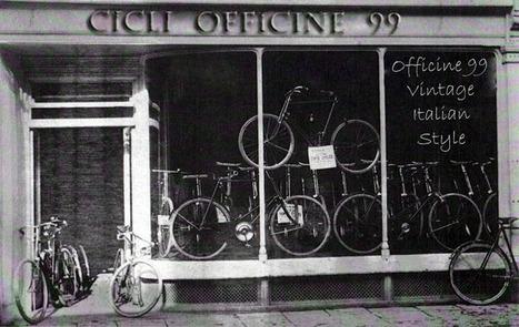 Officine 99 - bici d'epoca, vintage e old style riconvertite in fixed e ... | Sapore Vintage | Scoop.it