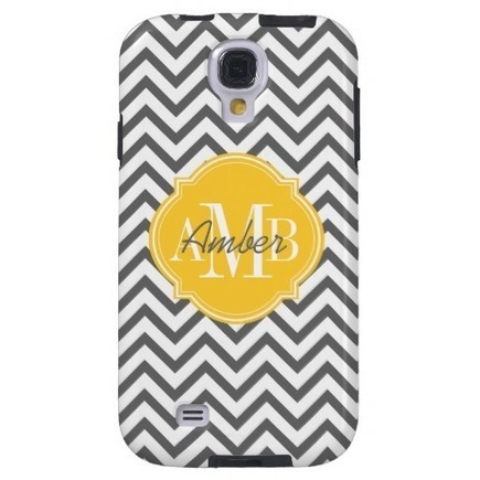 Chevron Zigzag Gray Pattern Monogram from Zazzle.com | Womens Fashion and Hair styles | Scoop.it