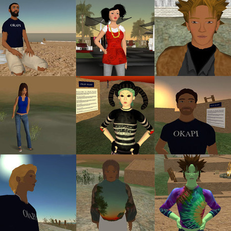 Designing e-learning - Virtual worlds | Second Life and Education | Scoop.it