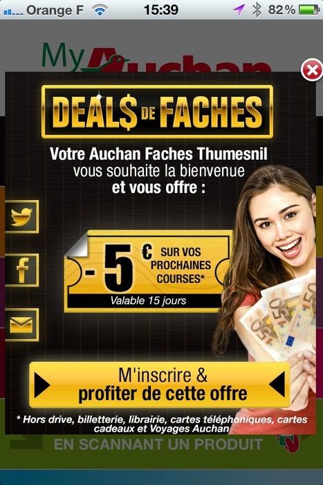 Phoceis teste le geofencing pour Auchan | Innovations | Scoop.it