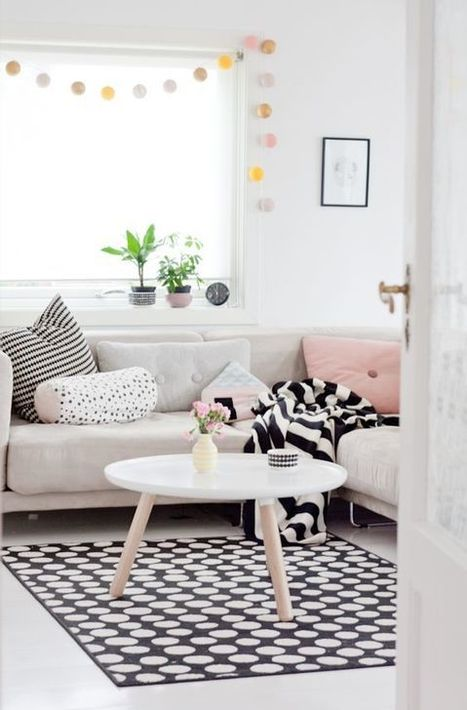 Inspiration – Un tapis pour le salon – Cocon de décoration: le blog | Décoration | Scoop.it