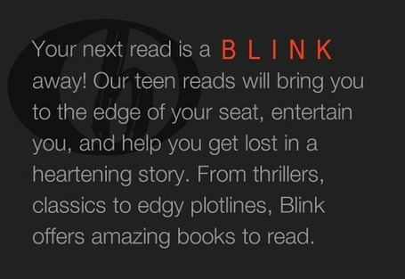 Teen Reads, Books, Young Adult Reading | Blink YA Books | Y.A. Australian Books for Boys | Scoop.it