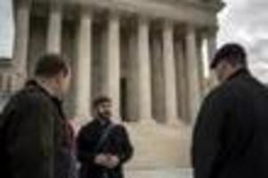 Analysis: At Supreme Court hearing, passions ov...