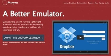 Manymo – Ejecuta aplicaciones Android en tu ordenador | cesparzab@hotmail.com | Scoop.it