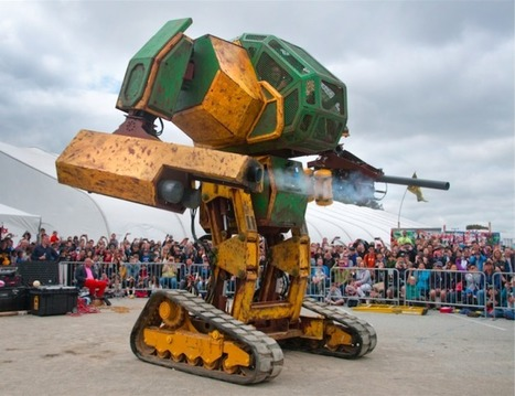 MegaBots raises $2.4 million to create league of human-piloted, giant fighting robots | Entrepreneurship, Innovation | Scoop.it