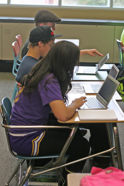 Technology in the classroom - Shoshone News Press | History education | Scoop.it
