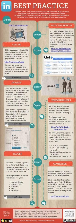 Mejores prácticas en Linkedin (experto) #infografia #infographic #socialmedia | Sóc Multidisciplinar - Ara toca Web 2.0 | Scoop.it