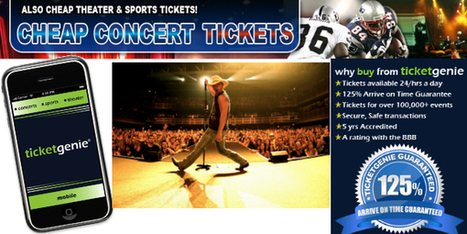 Grab cheap concert tickets via authorized ticket stores | cheap football tickets | Scoop.it