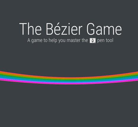 S'amuser avec l'outil plume et les courbes de Bézier | Time to Learn | Scoop.it