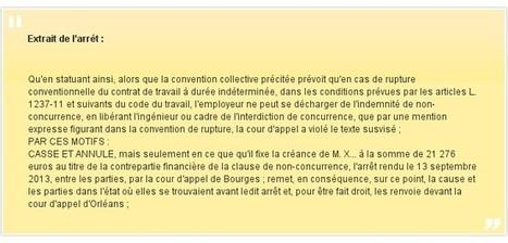 Rupture conventionnelle et clause de non-concurrence : attention à ce que prévoit la convention collective ! | Santé Sécurité Hygiène Environnement PROPRETE | Scoop.it