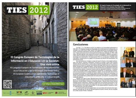 III Congreso Europeo de Tecnologías de la Información en la Educación y en la Sociedad: Una visión crítica - RedDOLAC - Red de Docentes de América Latina y del Caribe -   A New Society, a new education!   Scoop.it