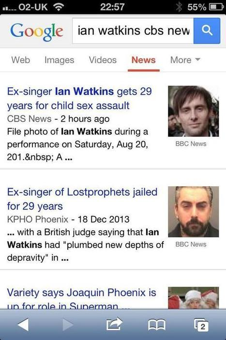 Pris pour un pédophile à cause de Google News | Big Brother is networking with you | Scoop.it