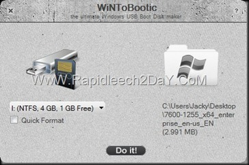 Download WintoBootic V2.1 2013 - Drag & Drop Best, Easy way to Make/create bootable Windows Vista/7/8/2008/2012 NTFS USB hard or flash disk   Rapidleech2day   Scoop.it