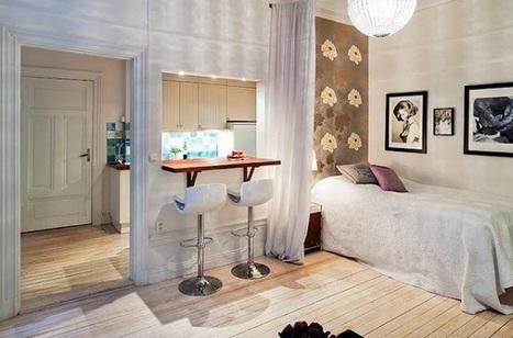 Adorable small apartment | Décorations en tous genres | Scoop.it