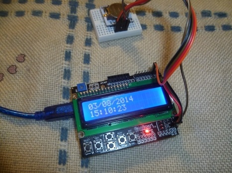 The Arduino LCD Clock | Arduino, Netduino, Rasperry Pi! | Scoop.it