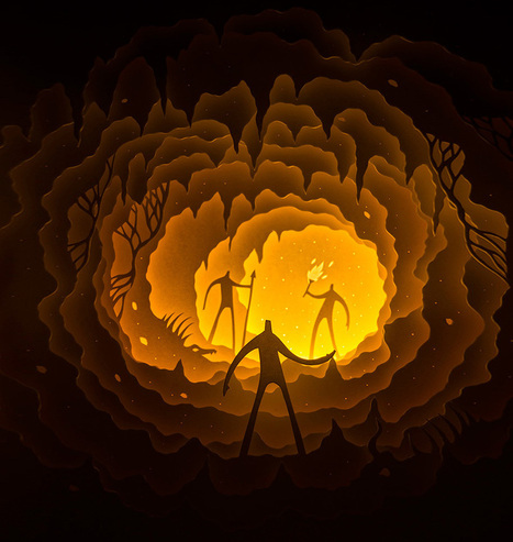 Extraordinary Paper Cut Light Boxes by Hari & Deepti | Incredible Snaps | incredible snaps | Scoop.it