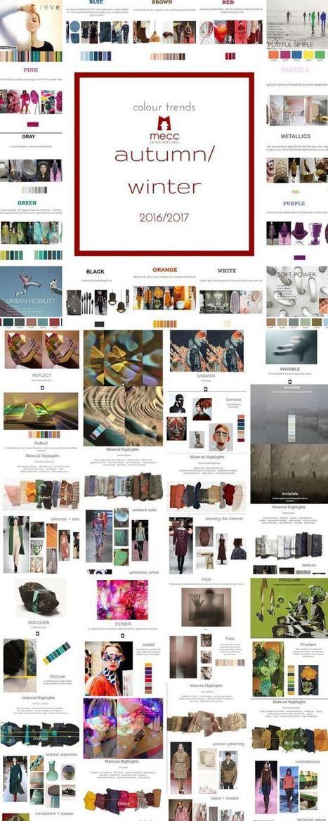 2016 top colour & interiors trends | Colour Trends - Tendències de Color. | Scoop.it