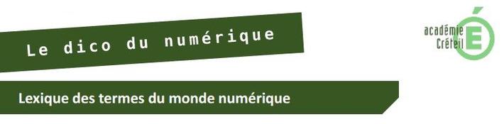 Le dico du numérique   TIC et TICE mais... en français   Scoop.it