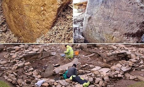 Archaeologists discover 'finest ever' piece of Neolithic art that was part of vast temple complex built in 3,500BC   Ancient Origins of Science   Scoop.it