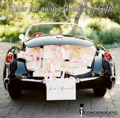 Top five rules for giving wedding gifts they're guaranteed to love. | Facebook | Lifestyle | Scoop.it