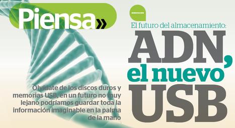 El futuro del almacenamiento: ADN, el nuevo USB | TI News | Scoop.it