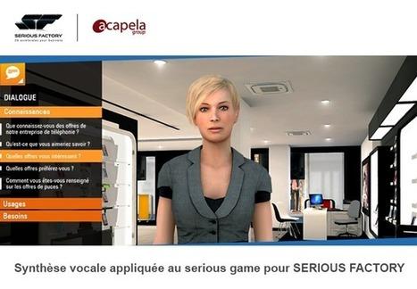 Serious Factory intègre la synthèse vocale dans ses Serious Games en partenariat avec Acapela | digital learning | Scoop.it