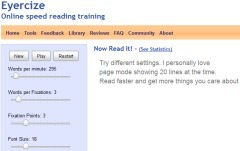 Eyercize - Speed Reading | teaching with technology | Scoop.it