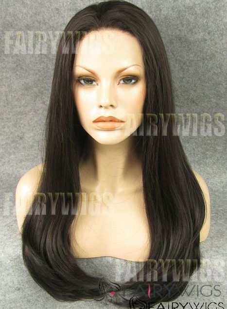 New Impressive Long Sepia Female Wavy Lace Front Hair Wig 22 Inch : fairywigs.com | Human Hair Wigs | Scoop.it