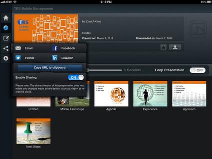 Brainshark SlideShark v1.5: Conversation with Jay Wilder   iPad Resources for Educators   Scoop.it