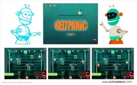 2D Game Assests - Belt Panic | 3D Animation | Scoop.it