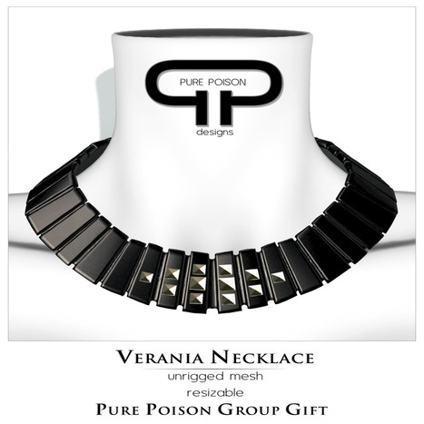 Verania Necklace Group Gift by Pure Poison | Teleport Hub - Second Life Freebies | Second Life Freebies | Scoop.it