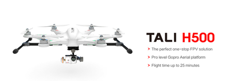 Walkera QR TALI H500 GPS Drone with DEVOF12E remote, G-3D gimbal, GoPro cable, TX5804, Mushroom antenna | Smart Mobile POS | Scoop.it