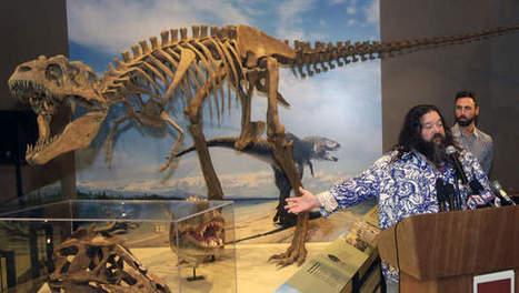 Skelet van voorvader T-Rex ontdekt in Utah   geschiedenis   Scoop.it
