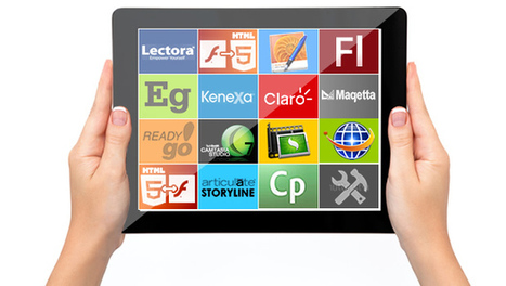 15 Authoring Tools For mEnabling Your eLearning For iPads | MI apps | Scoop.it
