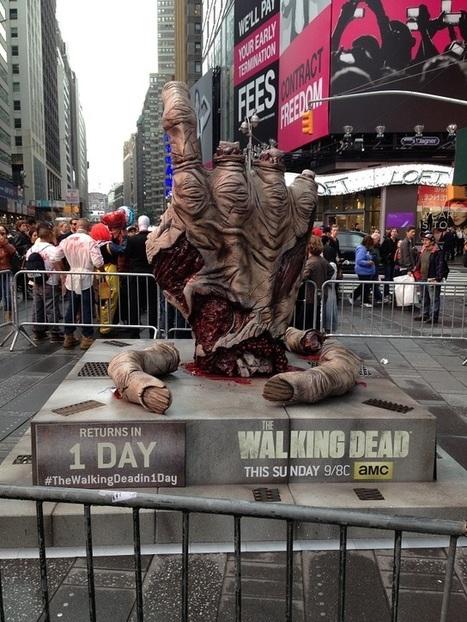 Le marketing de la série Walking Dead   streetmarketing   Scoop.it