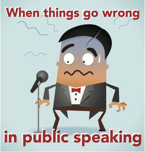 And what to do if things do go wrong... | Delivering a presentation | Scoop.it