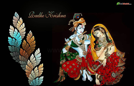 religious wallpaper, Hindu wallpaper, Lord Krishna Wallpaper, Download wallpaper, Spiritual wallpaper - Totalbhakti Preview | totalbhakti | Scoop.it