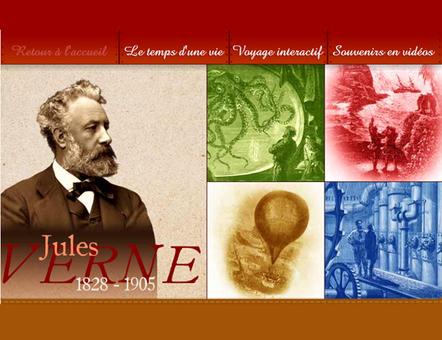 Jules Verne - voyage - jeu interactif dans son univers | Remue-méninges FLE | Scoop.it