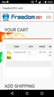 Freedom251.com Booking Website Down and Not Working After Click Paynow | TechnoGupShup - Technology, Software and Internet | Scoop.it