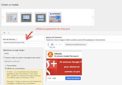 Google Plus +Post Ads : Le Guide complet !   Social Media Pro   Scoop.it