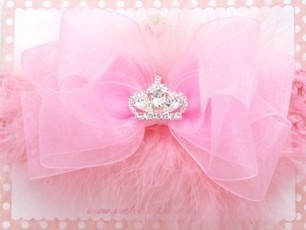 Spoiled Princess Glitzy Tiara Baby Headband | Babies Shower Gifts | Scoop.it