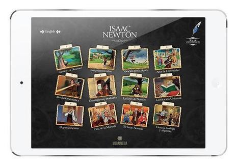 Isaac Newton App, recuperando el estilo de los cuentos clásicos con la magia del iPad | iPad classroom | Scoop.it